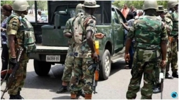 Soldiers take over streets, strategic points in Abuja as End SARS protest continue